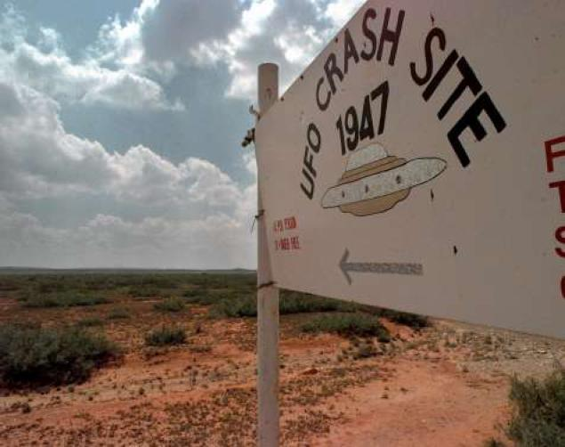 Roswell UFO crush site