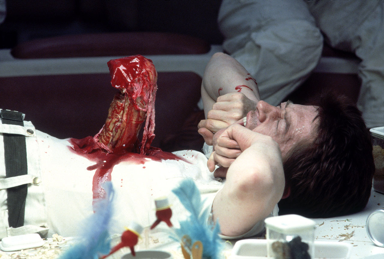 Alien Chestburster in the movies