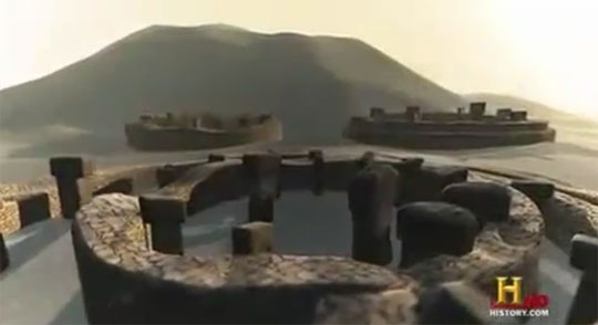 Ancient Aliens episodes Unexplained structures