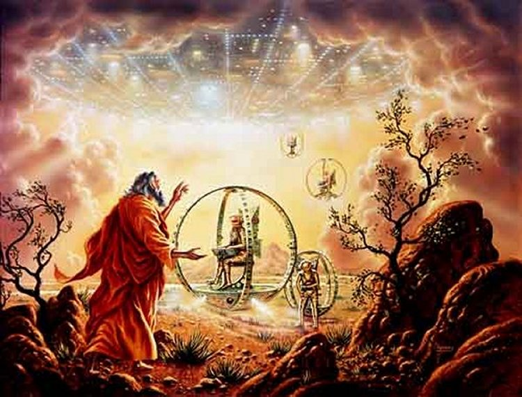 Book of Ezekiel Ancient Astronaut Theory Proof