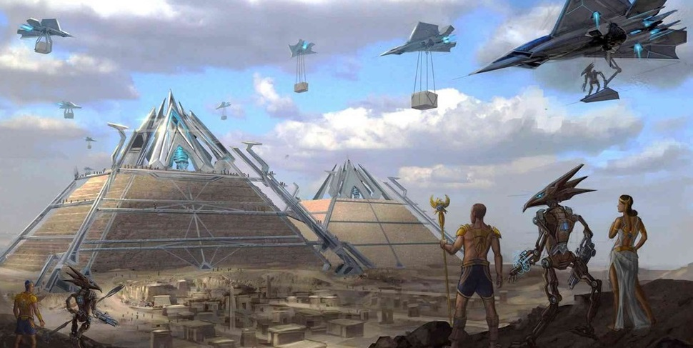 Evidences To Prove The Aliens Built The Pyramids