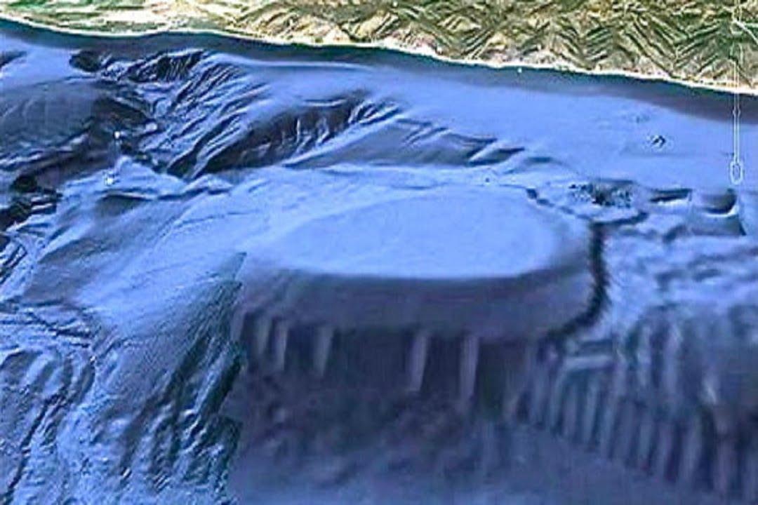 Malibu underwater UFO base