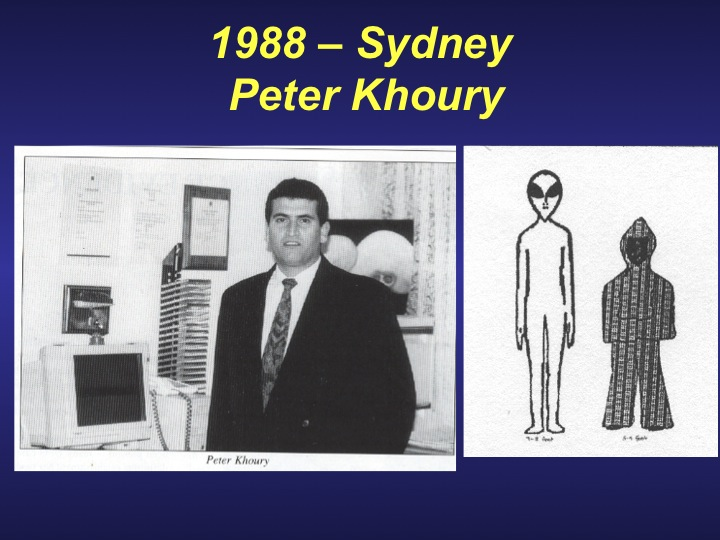 Peter Khoury alien encounter