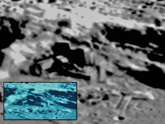 Photos from Chinese lunar orbiter Chang E2 Aliens On The Moon