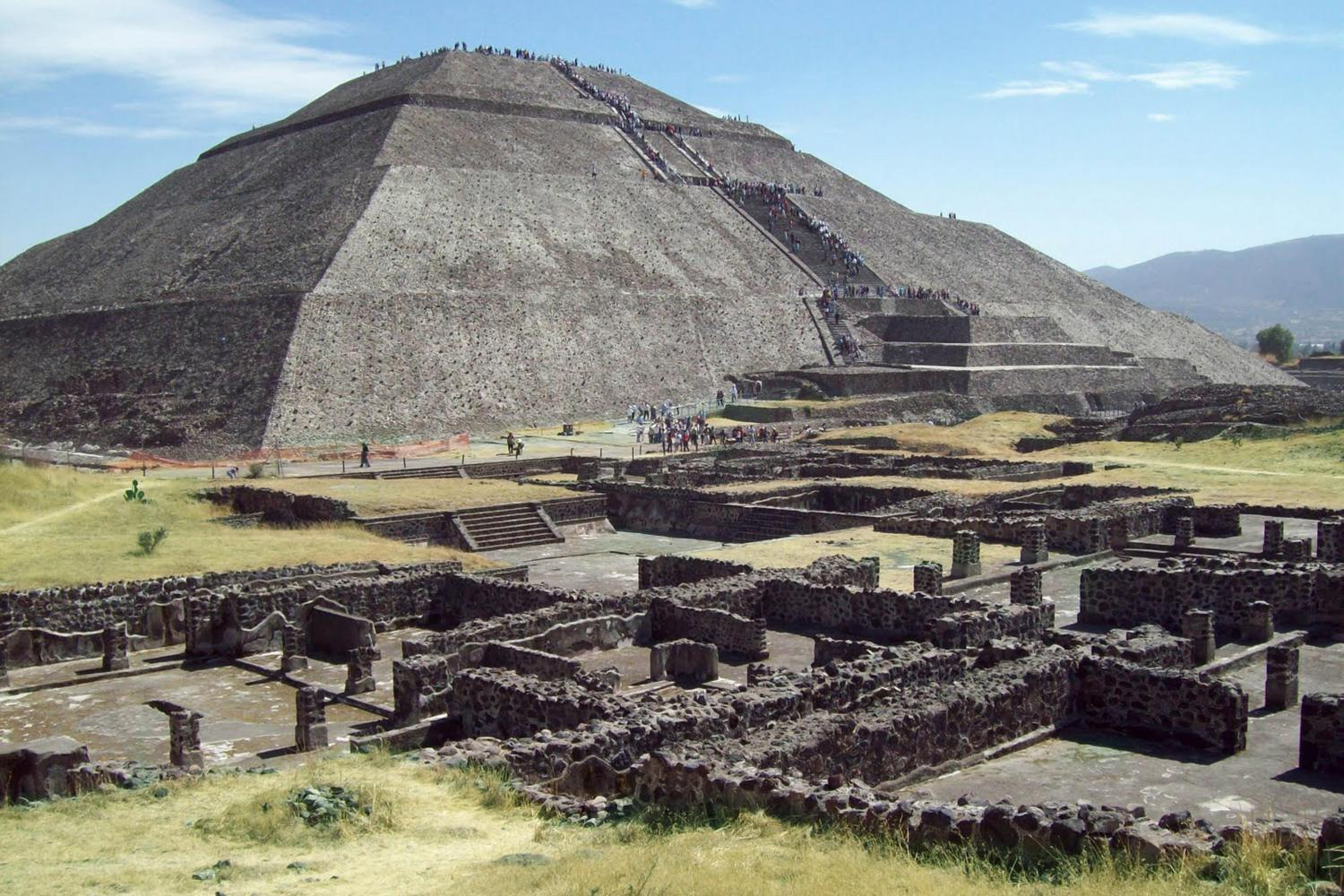 Teotihuacan Ancient Civilizations Aliens