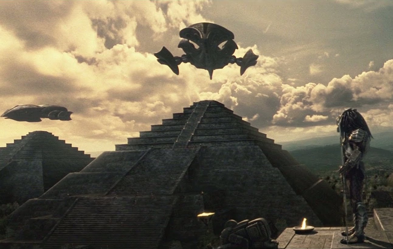 The Aliens Built The Pyramids