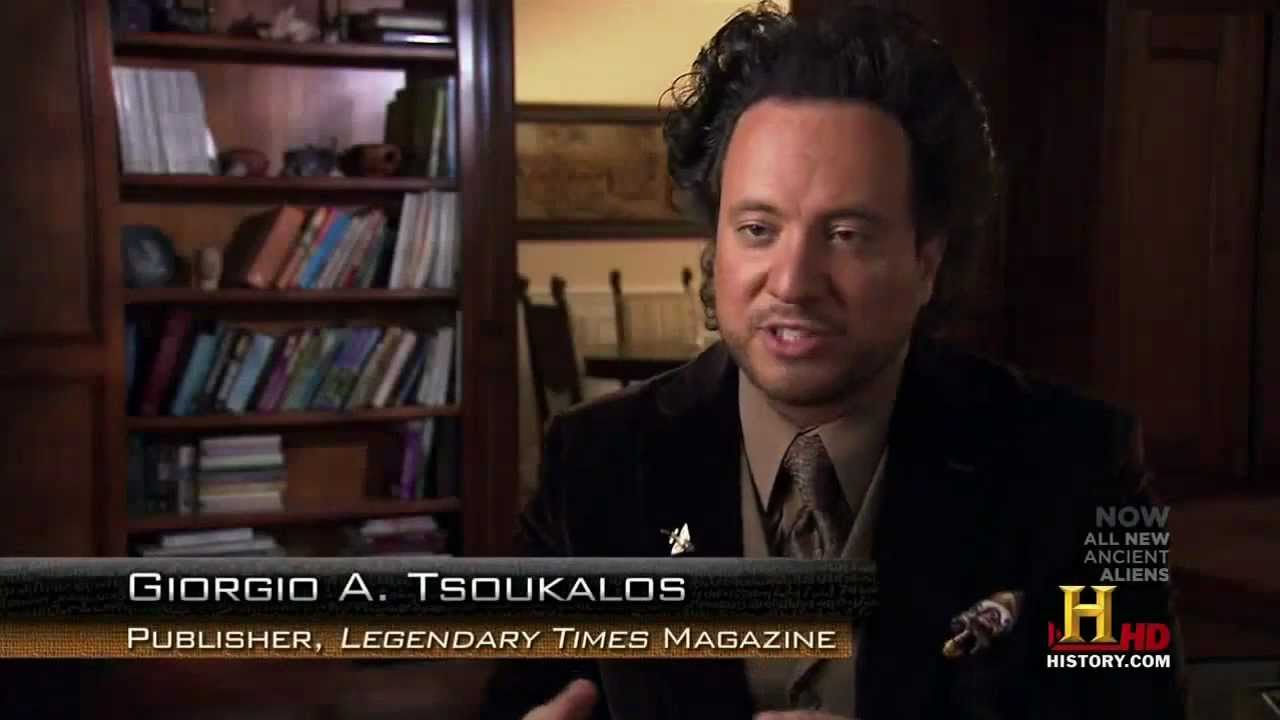 Things That The Ancient Aliens Guy (Giorgio A. Tsoukalos) Taught Us