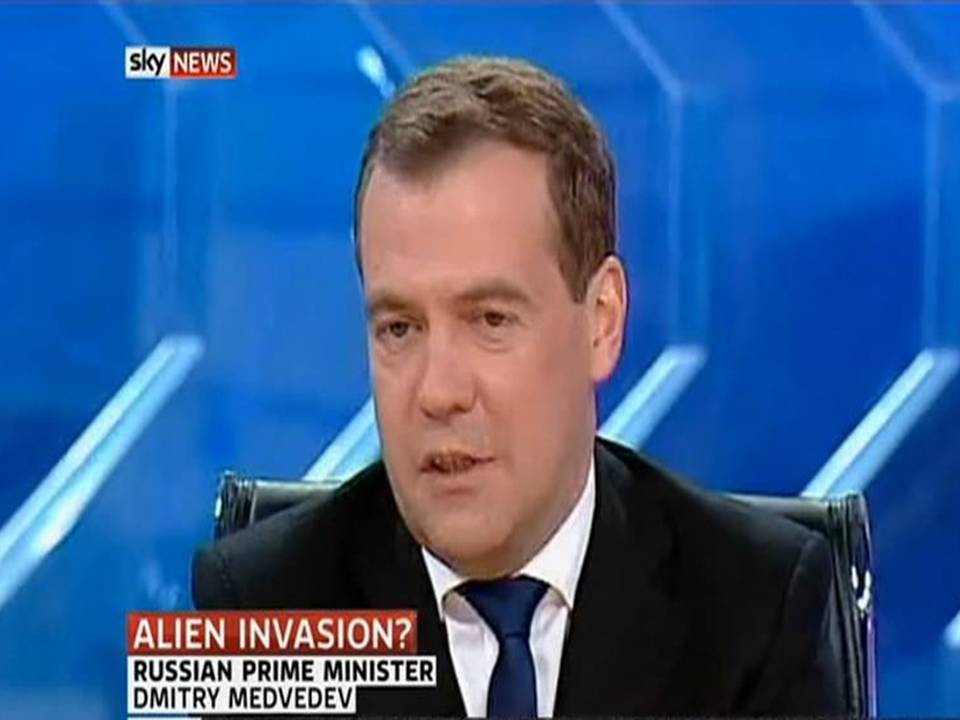 10 Reasons Why Russian Prime Minister Confirms Aliens Among Us So Confidently