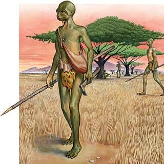African folklore reptilian aliens