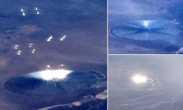 Crazy UFO Sighting From Plane Over Nevada. Caption: Crazy UFO Sighting From Plane Over Nevada. UFO NEWS/MISTER ENIGMA