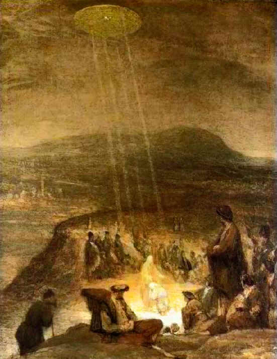Baptism of Christ UFO