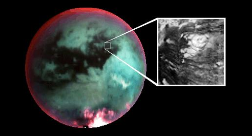 Existence of primitive alien on Titan