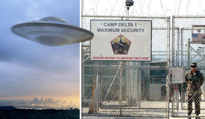 Guantanamo Bay Naval Base Is A UFO Base