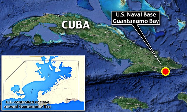 Guantanamo Bay Naval Base location