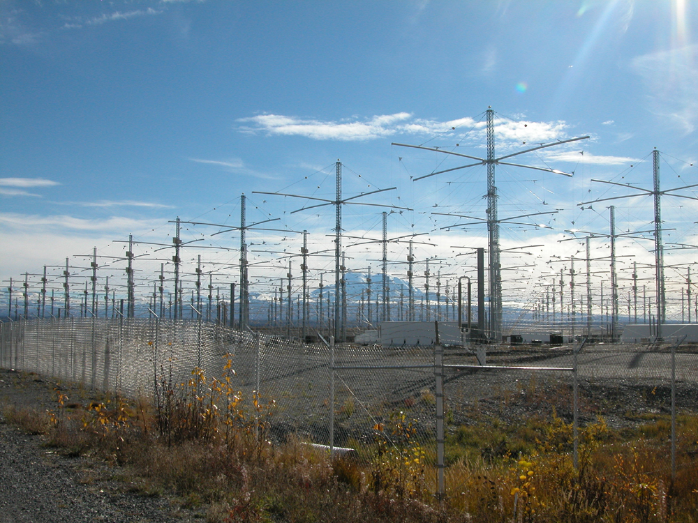 HAARP machine is functional