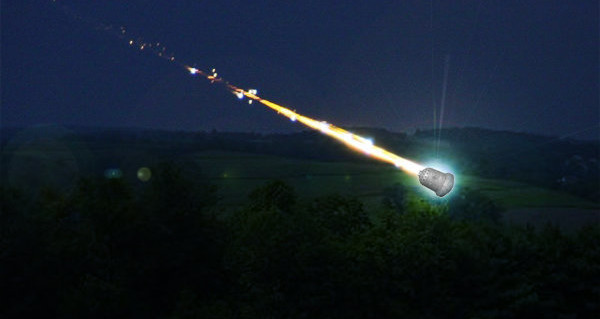 Kecksburg UFO Crash fireball