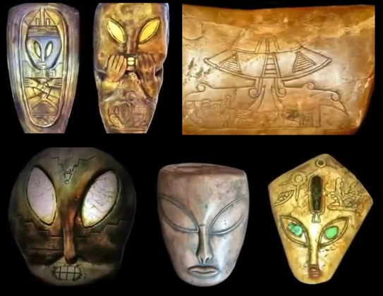 Mayan artifacts ancient aliens