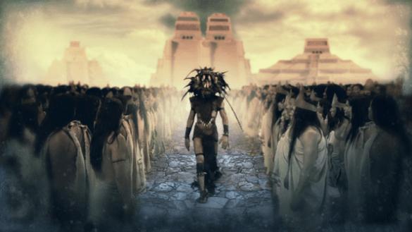 Mayan god Reptilian Aliens