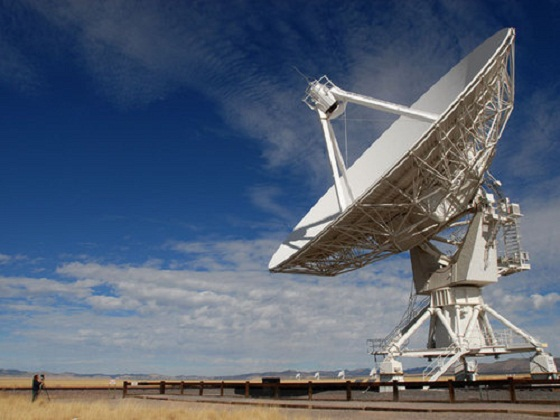 Mysterious signals received during the SETI project