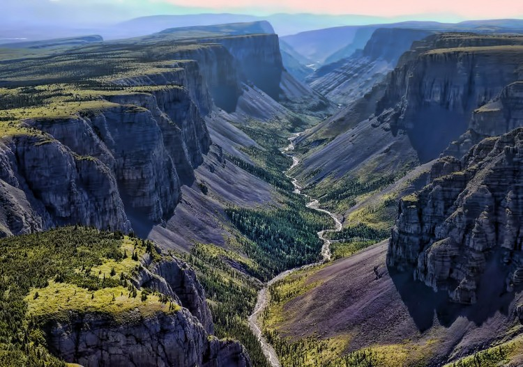Nahanni Valley in Canada
