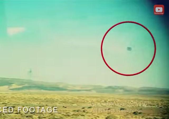 Sandra area 51 UFO