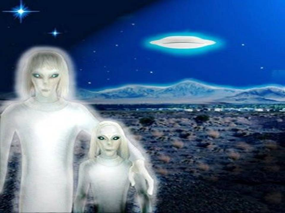 Tall White Aliens earth