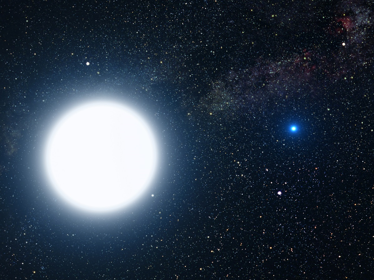 Tall White Aliens star Arcturus