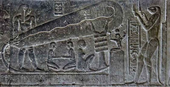 Temple of Dendera in Egypt ancient aliens