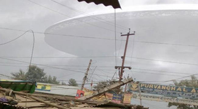 UFO in rural area of Hartford, Wisconsin