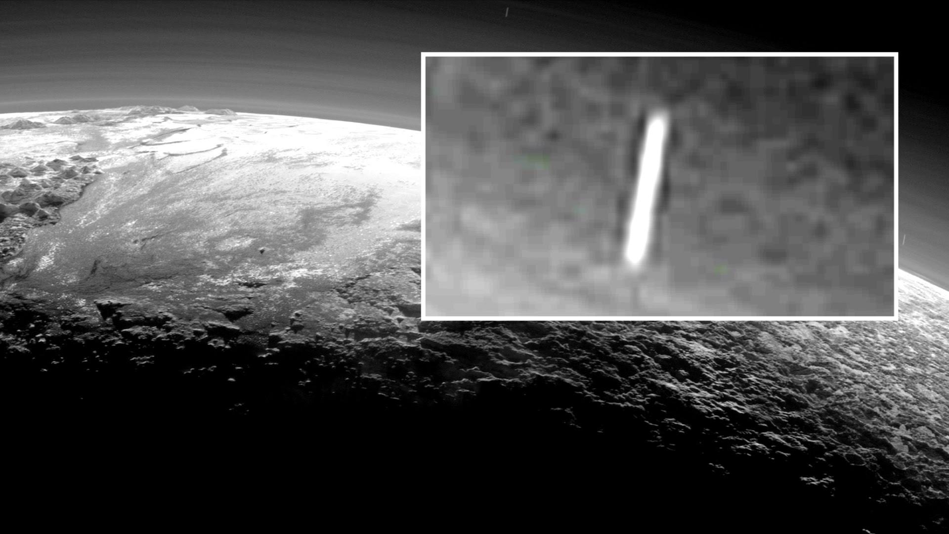 UFO on Pluto