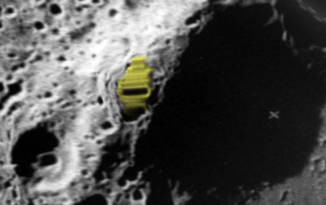 Zeeman Crater huge rectangular shaped