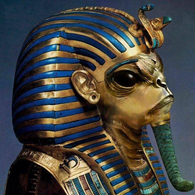 alien Egyptian gods hieroglyphs