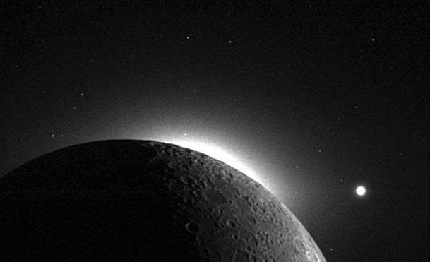 astronomers luminous orbs on the moon