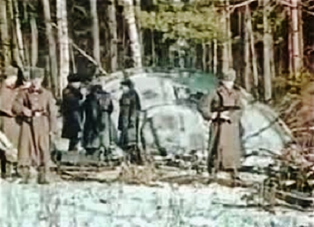 kecksburg ufo crash military