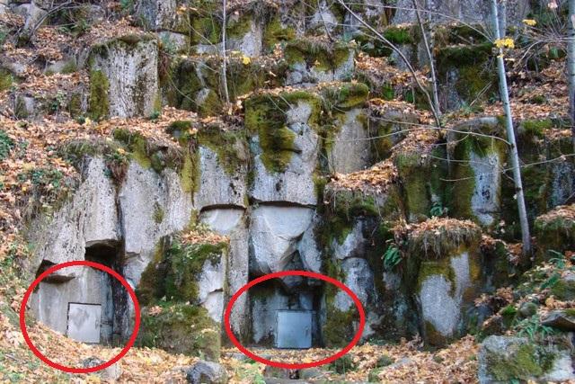 mt shasta underground base