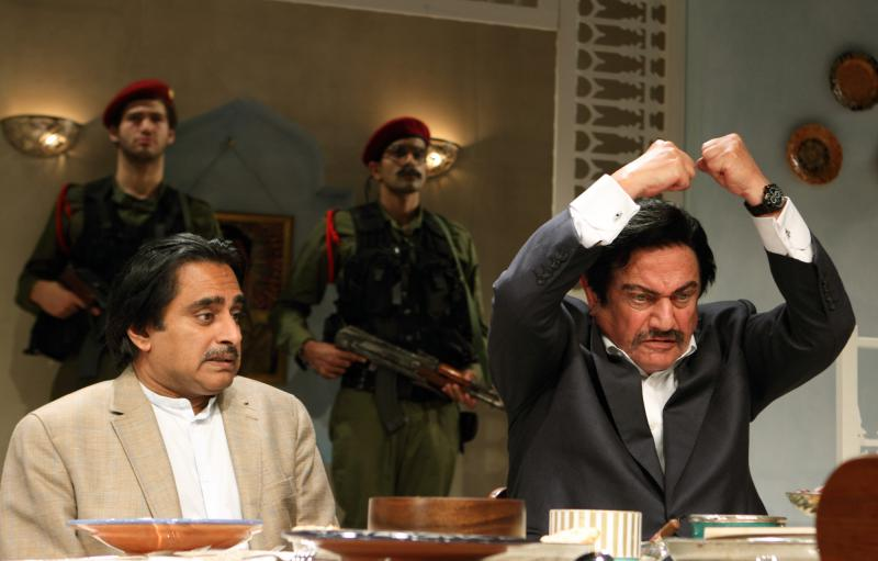 role play by Saddam Hussein