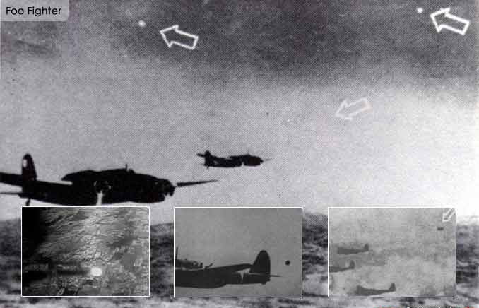 Axis and Allied pilots UFO