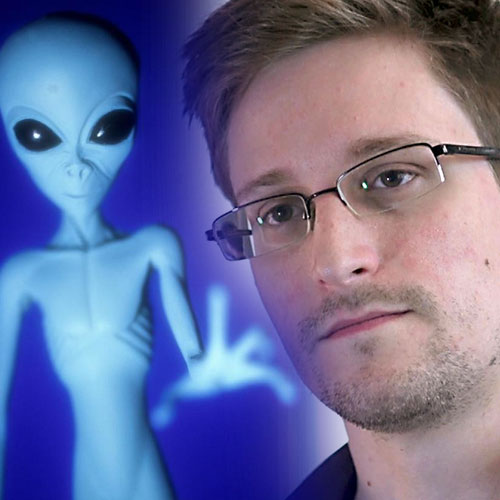 Edward Snowden Aliens among us