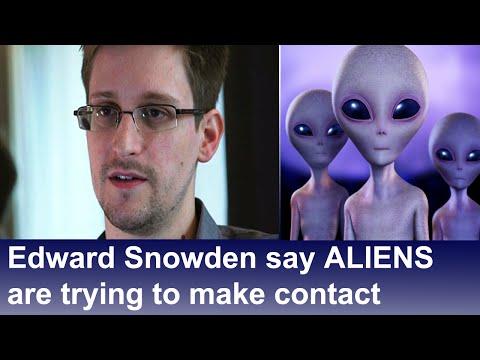 Edward Snowden Aliens