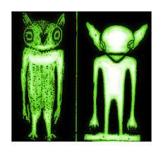 Horned Owls Little Green Men