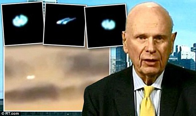 Minister Paul Hellyer Aliens