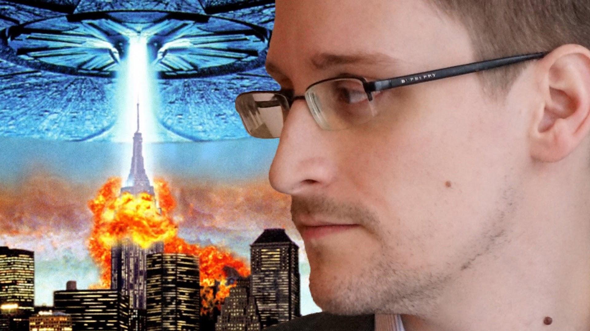 Top 10 Edward Snowden's Aliens theories