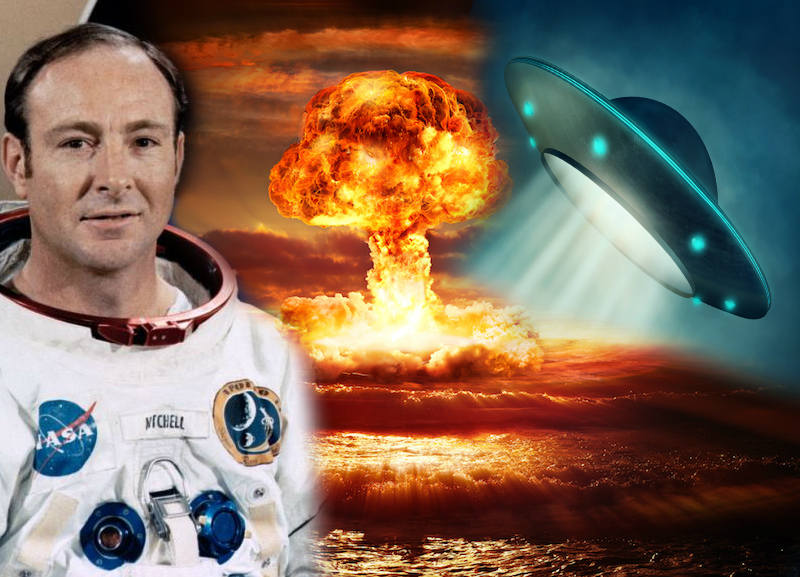 Edgar Mitchell aliens nuclear testing