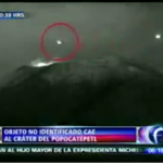 The sightings of Mexico volcano UFO