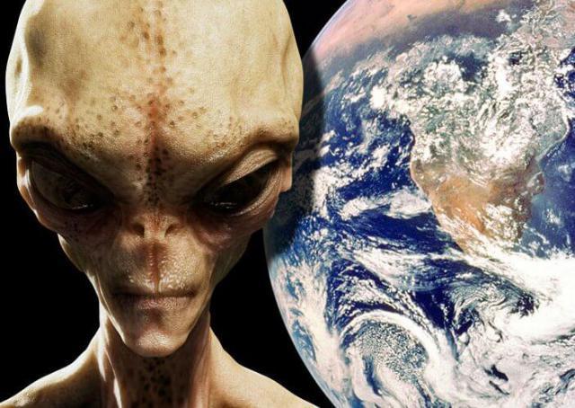 Стандартное изображение инопланетянина.