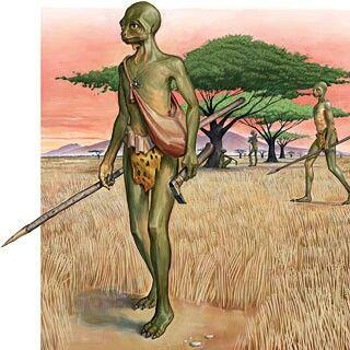 African folklore reptilian aliens