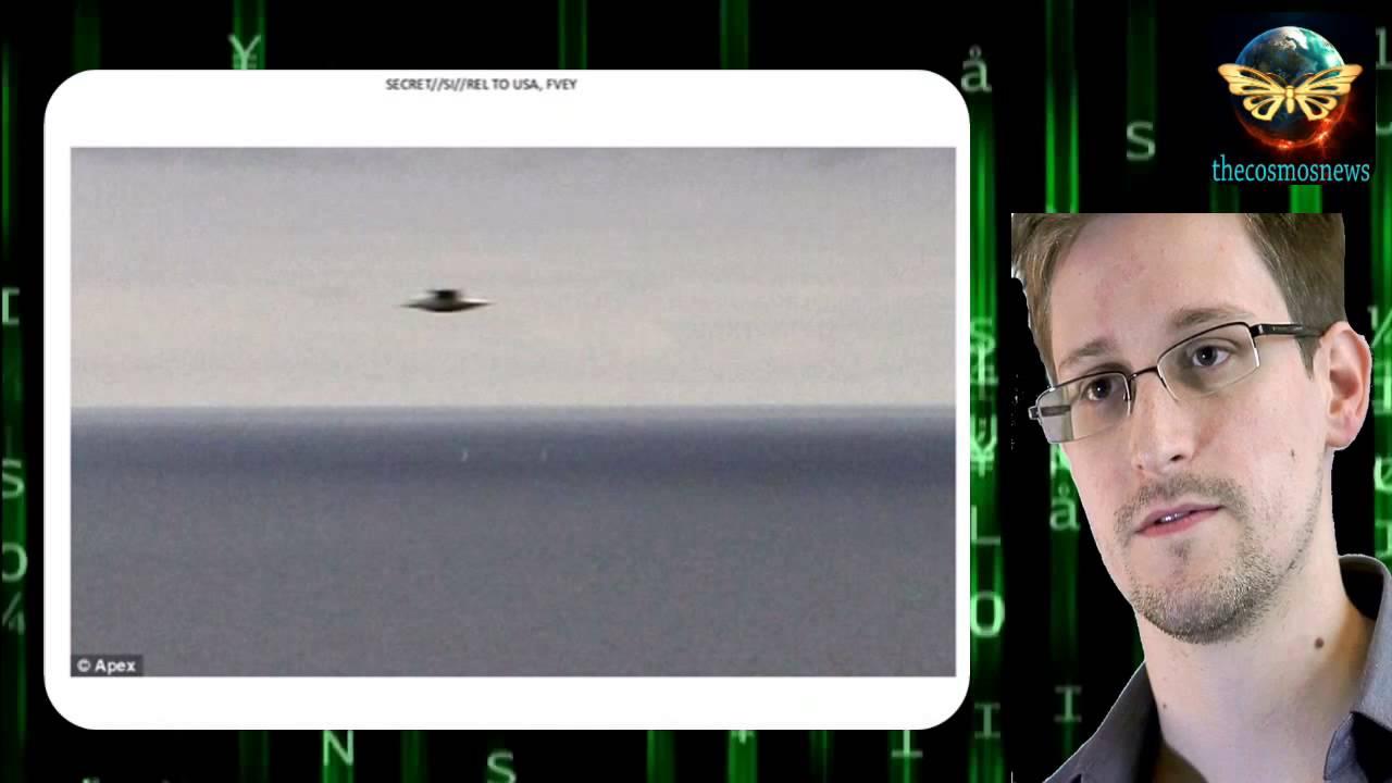 Эдвард Сноуден, на телешоу об инопланетянах.